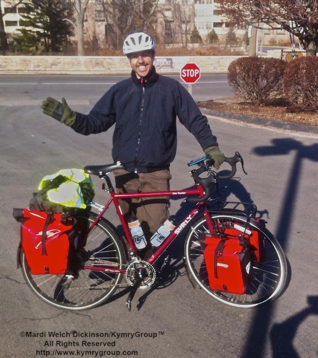 Dorian Anderson, Biking For Birds 2014. Norwalk, CT. ©Mardi Welch Dickinson/KymryGroup.